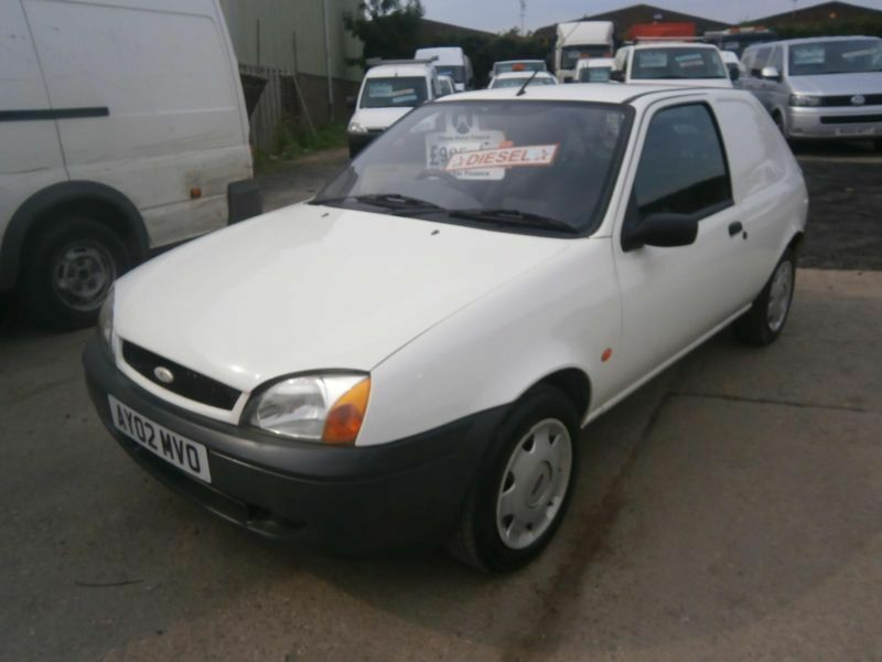 2002 ford fiesta 35 1 8 td van white turbodiesel not escort vauxhall corsa astra in clacton on. Black Bedroom Furniture Sets. Home Design Ideas