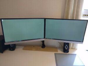 [WANTED] TWO 24-inch Monitors 1080p 5ms or less 60Hz or more