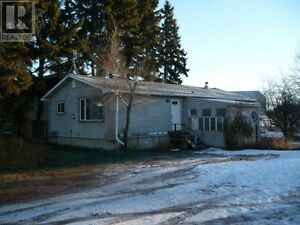 Two 50' x 120' Lots in Alix Alberta with 2 Bedroom House
