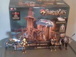 2011 Thundercats figures and playset
