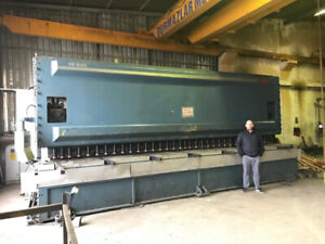"2010 Durma VS 6620 ¾"" X 22' Plate Shear (#3139)"