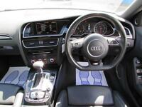 2013 AUDI A4 AVANT 2.0 TFSI QUATTRO S LINE BLACK EDITION AUTOMATIC PETROL ESTATE