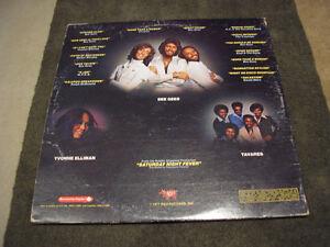 Saturday Night Fever LP Album record - Bee Gees Travolta Windsor Region Ontario image 2