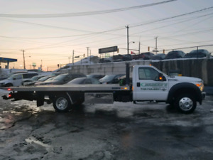2015 f550 flatbed Tow truck