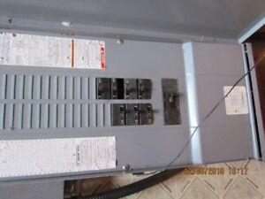 Boites Électriques et Panneaux 100 et 200 ampères