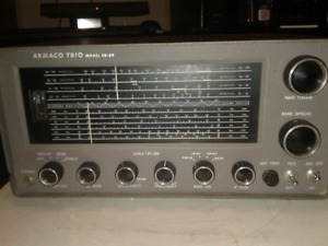 Trio receiver short wave  ham radio