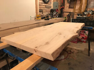 Newly Milled Live edge table top