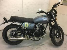 HERALD CLASSIC SCRAMBLER 125 BUY FROM AS LITTLE AS £65 PER MONTH