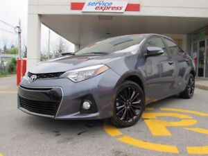 Toyota Corolla S PKG TOIT OUVRANT CUIR INT 2 TONS!!!! 2015