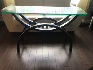 Glass Top Table For Sale
