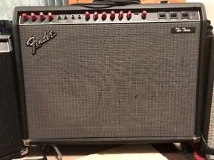 "Guitar Amp - Fender ""The Twin"" (""Evil Twin"") - REDUCED"