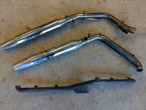 OEM pipes / exhaust for 2003 Harley Davidson, Heritage Softail C