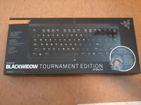Razer Blacwidow Ultimate Stealth Mechanical Keyboard