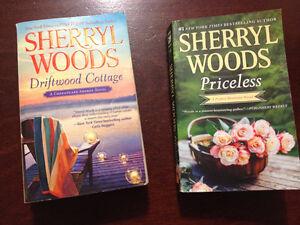 SHERRYL WOODS - 2 novesl - paperbacks