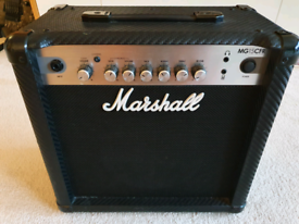 Marshall MG15 CFR guitar practice amp amplifier 15w