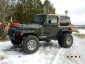 1997 Jeep TJ Sahara Edition