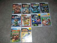 WII GAMES $7 EACH or 3 for $20