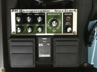 Roland Boss RE20 Space Echo guitar effect pedal