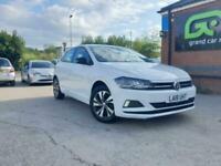 2018 Volkswagen Polo 1.0 TSI SE (s/s) 5dr Hatchback Petrol Manual