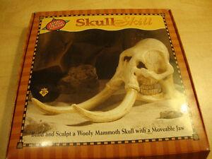 Skull Skill - Wooly Mammoth sculpture kit