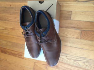 SOLD Like new Men's dress shoes, brown leather, size 8