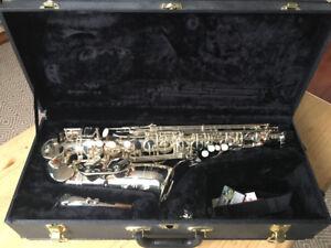 *REDUCED PRICE!* Silver Alto Saxophone