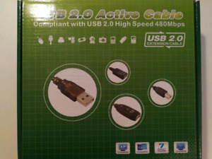 USB 2.0 Active Cable 20m