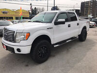 2010 Ford F-150 CREW CAB XLT XTR 4X4...6 SEATS..MINT COND. City of Toronto Toronto (GTA) Preview