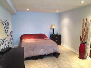 Two bedroom furnished basement apartment at Bloor/Ossington