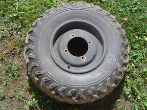 4 wheels and rims for atv