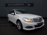 Mercedes C Class C 220 CDI BlueEFFICIENCY SE EXECUTIVE (white) 2013