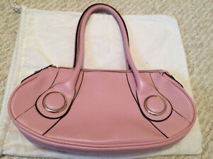 Brand new pink pleather purse