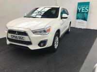 Mitsubishi ASX 1.6 ( 115bhp ) 2016 ZC finance available from £40 per week