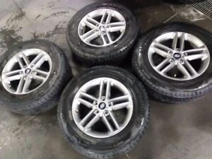 "17"" hyundai factory rims Kumho tires"