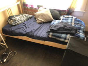 Bed and Matress for sale (6 months old)