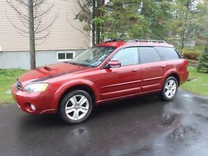 2005 Subaru Outback xt ltd familliale