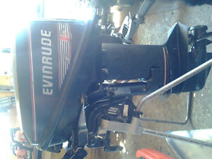 Newest version of Evinrude's low profile 9.9hp 2-stroke!!
