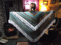 Hand Knitted Shawls