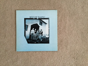 Traffic Best of Traffic 33 1/3 RPM vinyl LP