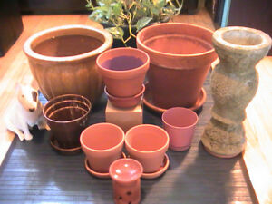 Gardener's Planter (Clay) Pot Sale (6 for $16.95)