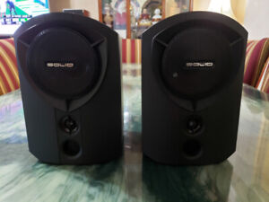 7 pieces vintage B&W SOLID speakers excellent condition