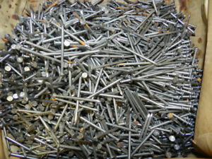 50LB Box of 2 inch nails (1/8th width)