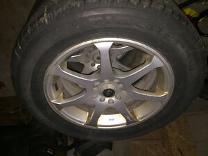 Uniroyal tires with rims. 225/60/16