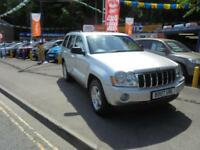 2007 07 JEEP GRAND CHEROKEE 3.0 CRD LIMITED AUTO IN SILVER # OWNED FOR 9 YEARS #