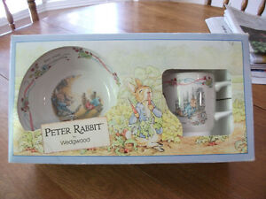 PETER RABBIT CHRISTENING DISHES