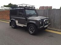 Land Rover Defender 90 TD5 TOMB RAIDER 2001 ONLY 75K VERY RARE