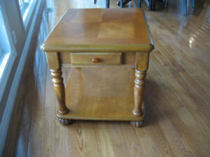 "END TABLE 23"" wide   27""deep   23"" tall"