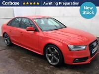 2014 AUDI A4 2.0 TDI 177 Black Edition 4dr