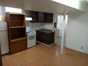 1 Bedroom Apt - Basement - Downtown PA