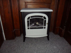 DECORATIVE ELECTRIC WOOD STOVE(only visual)